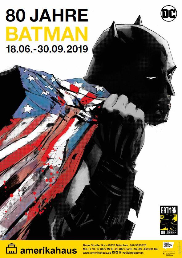 80 Jahre Batman Comicfestival München 2019