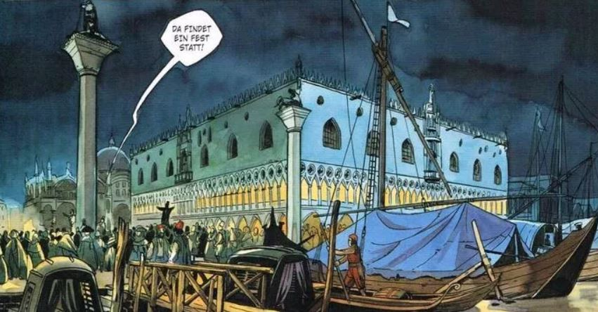 Venedig im Comic